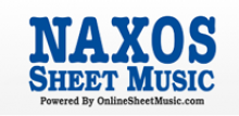 Naxos Sheet Music Library