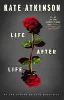 book cover. Life after Life