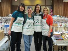 FOL book sale helpers