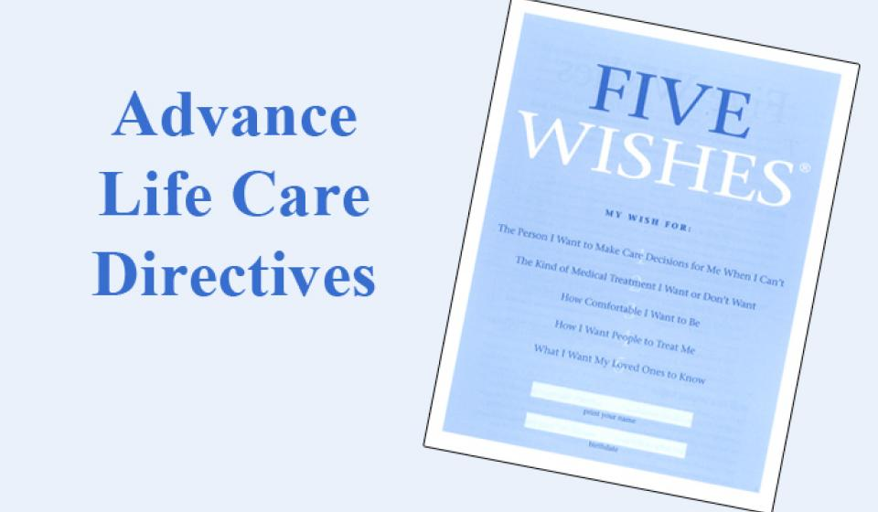 Learn about health care decisions and living wills